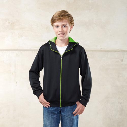 Veste capuche sportswear polyester enfant
