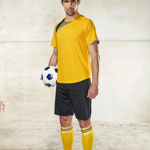 T-shirt sport manches courtes unisexe