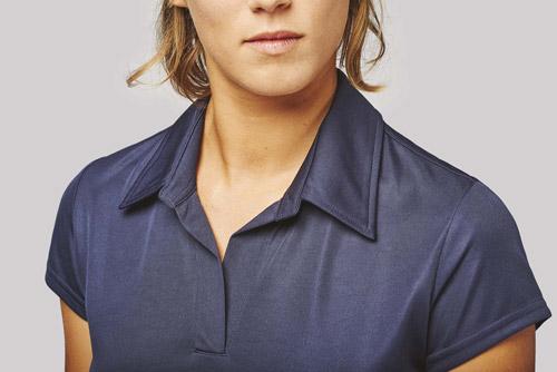 Polo sport manches courtes femme