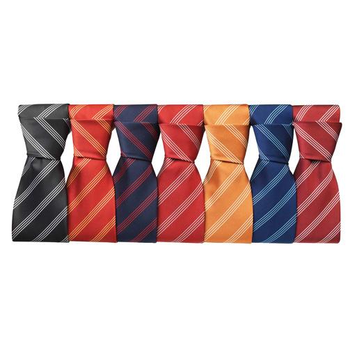 Four stripe tie