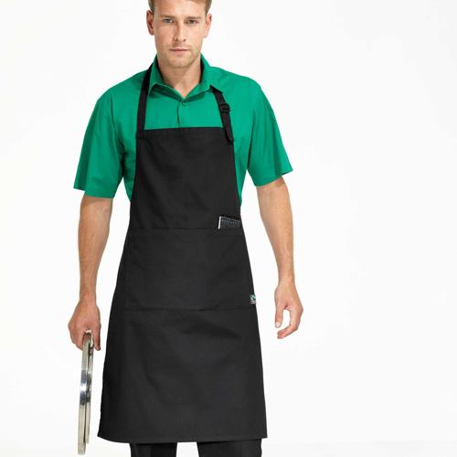 """Fairtrade apron - tablier """"équitable"""""""