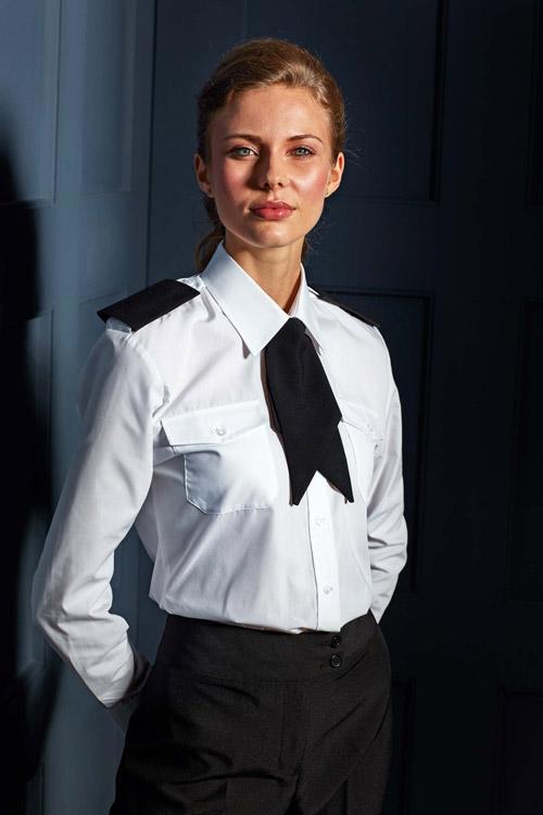 Chemise femme manches longues pilote
