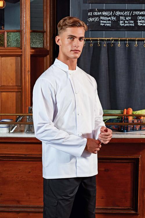 Veste chef cuisinier manches longues ''essential''
