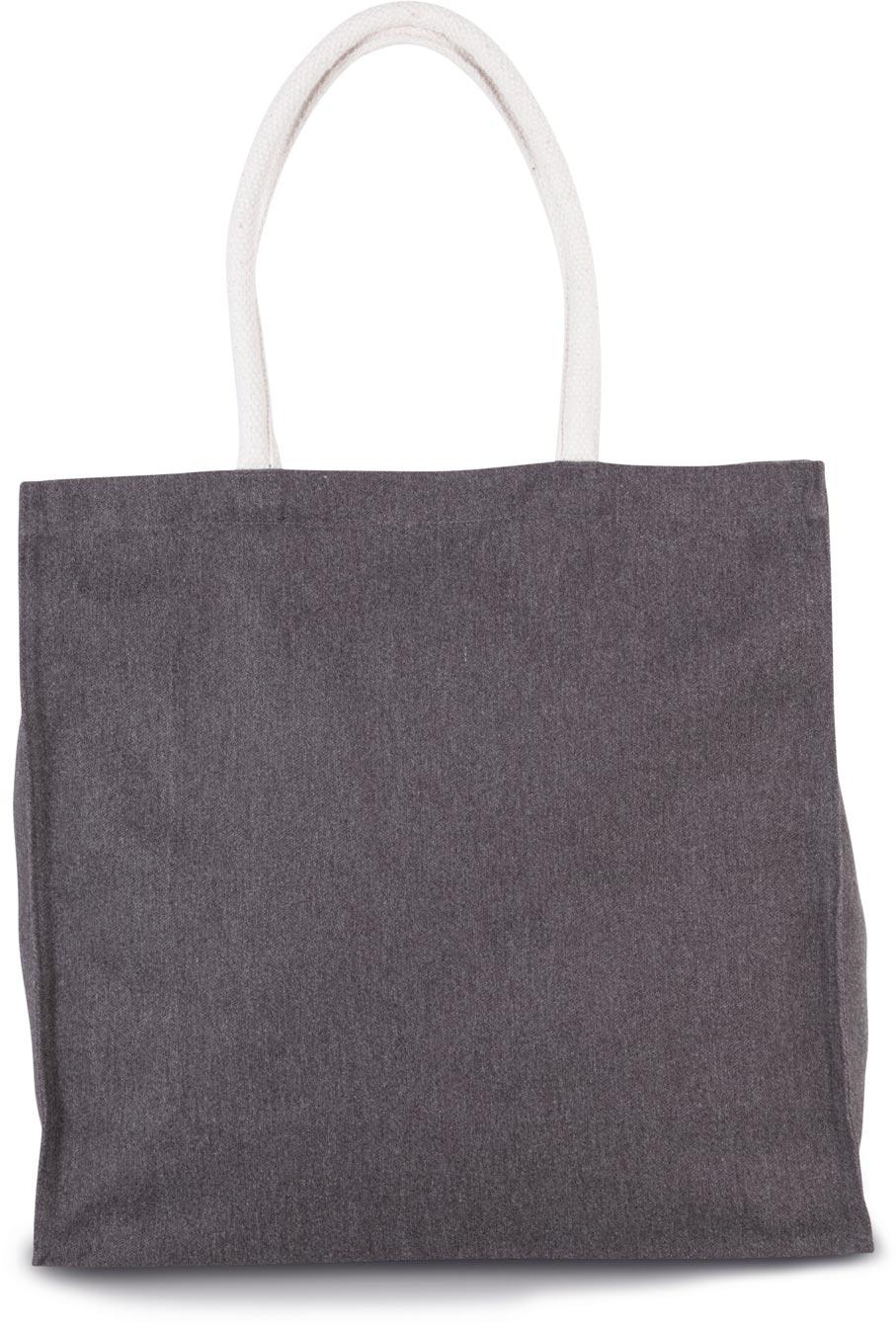 Grand sac shopping en polycoton
