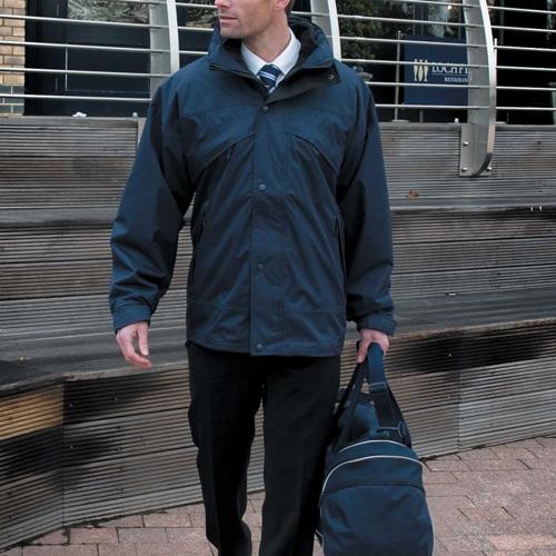 3 in 1 waterproof jacket - veste 3 en 1 imperméable doublée en polaire zip&clip