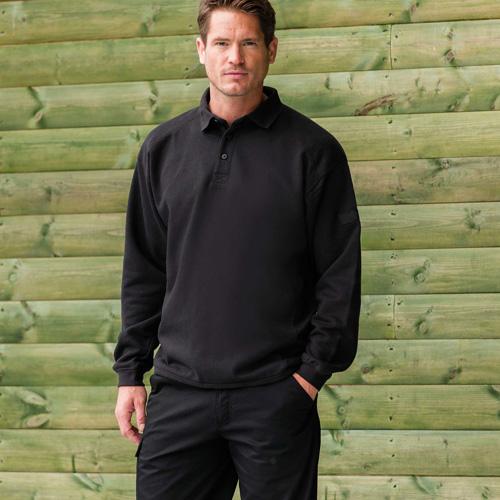 Sweat-shirt polo workwear
