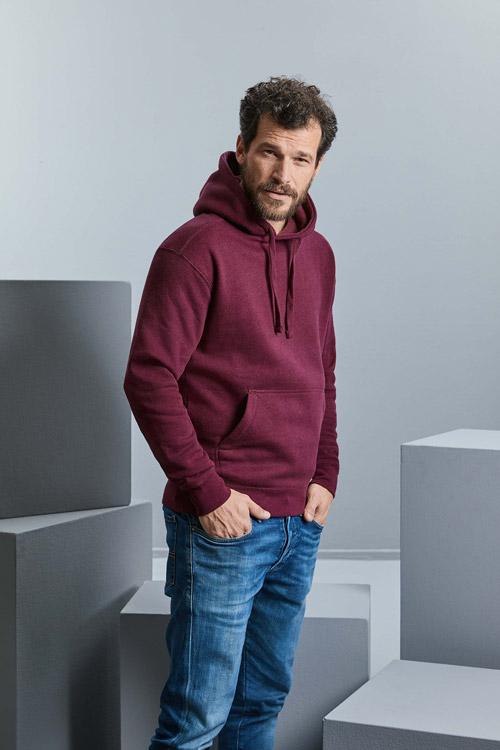 Sweat-shirt capuche authentic chinÉ homme
