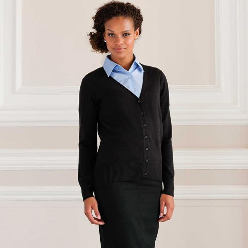 Ladies' v-neck cardigan