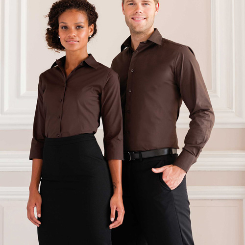 Fitted shirt - chemise ajustée manches longues