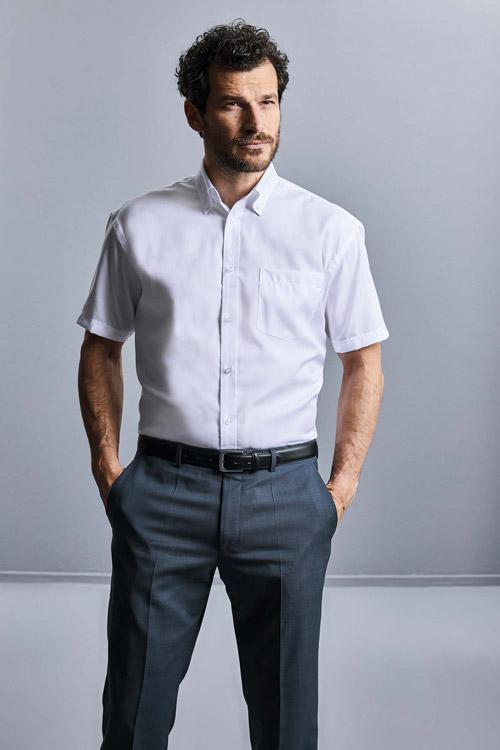 Chemise homme manches courtes non iron - classique