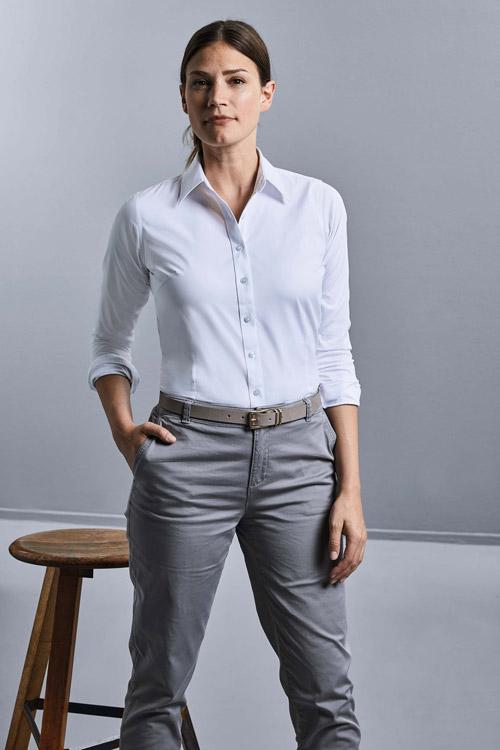 Chemise femme coolmax® manches longues
