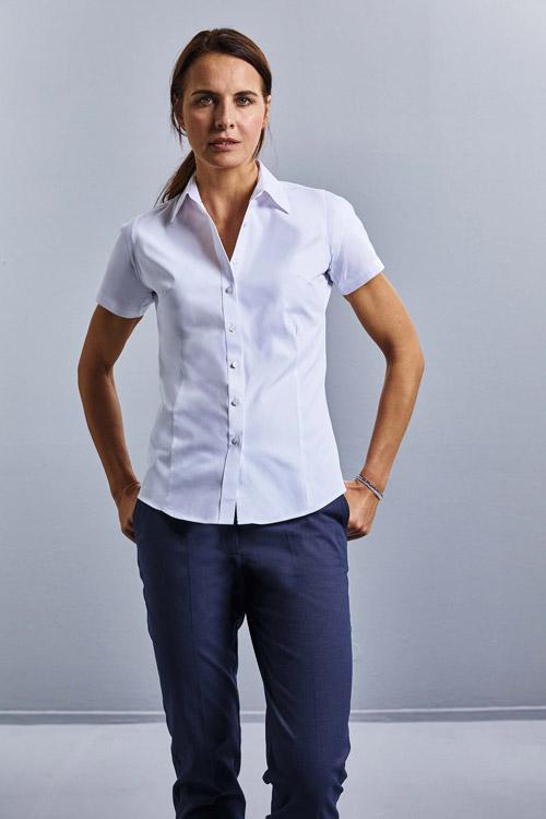 Chemise femme coolmax® manches courtes