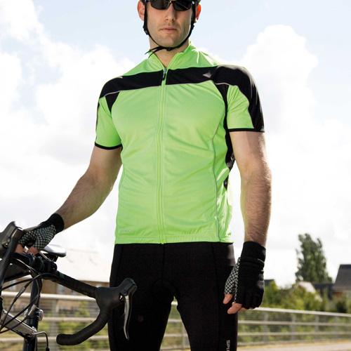 Veste de cyclisme manches courtes homme