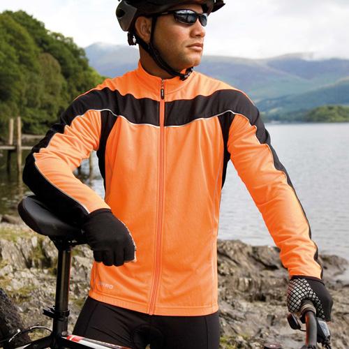 Veste de cyclisme manches longues homme
