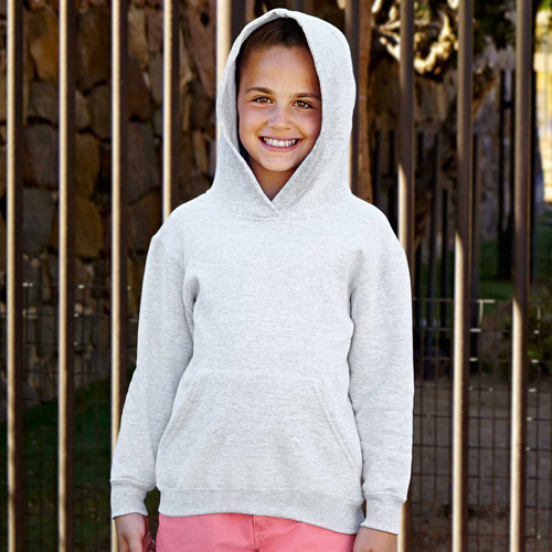 Sweat-shirt capuche unique hoodie enfant (62-007-0)