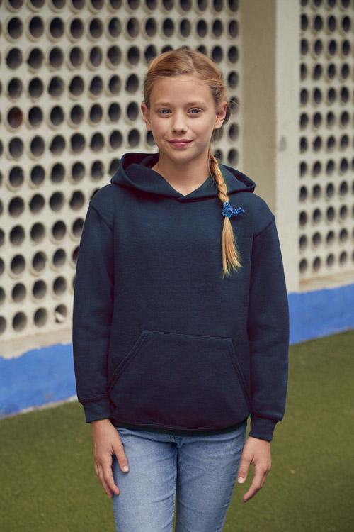 Sweat-shirt enfant capuche classic (62-043-0)