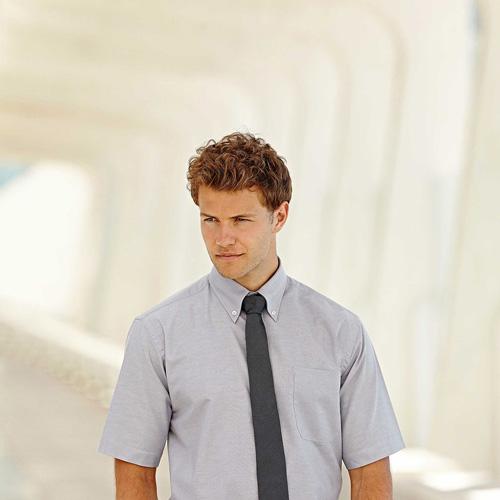 Oxford shirt short sleeves (65-112-0)