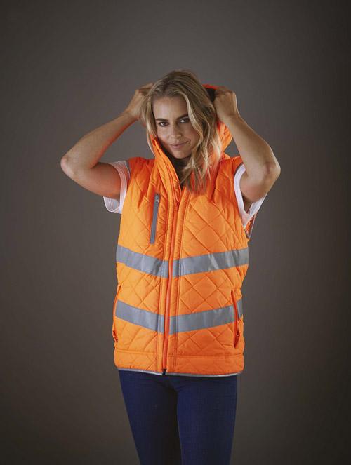 Bodywarmer haute visibilité ''kensington''